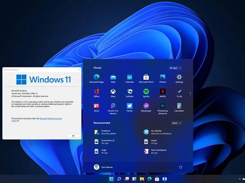 Cài đặt phần mềm Windows 11