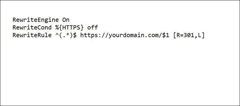 Đoạn code bắt buộc dùng https