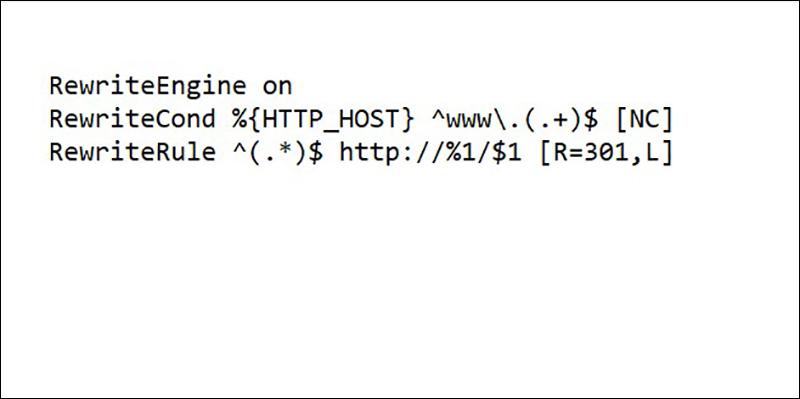 Code giúp tự động xóa www khỏi address bar