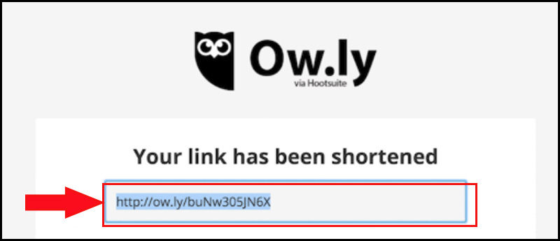 Link ow.ly rút gọn