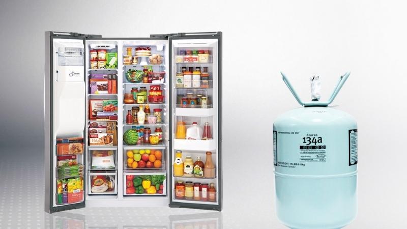 Gas trong tủ đông, tủ lạnh là một bộ phận quan trọng không thể thiếu