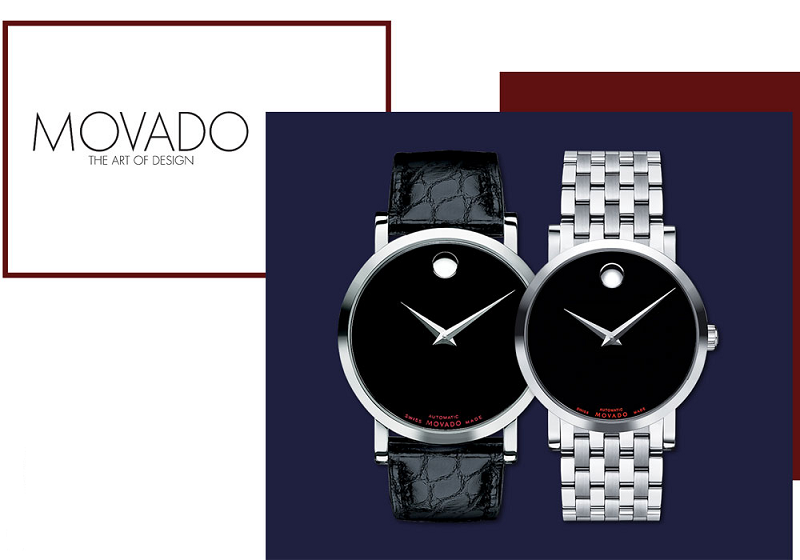 Đồng hồ Movado Red Label đem đến sự mạnh mẽ, nam tính