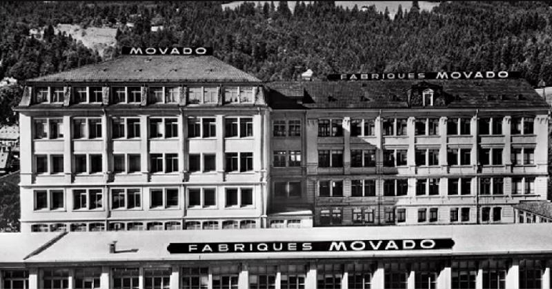 Nhà máy sản xuất đồng hồ Movado đầu tiên
