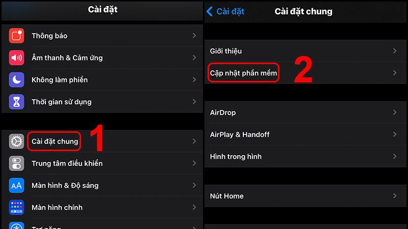 Kiểm tra phiên bản hệ điều hành ở iOS