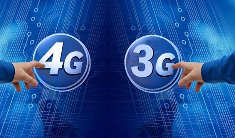Chuyển qua dùng 3G, 4G