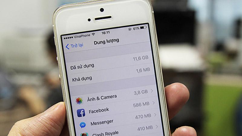 Xóa cache và bộ nhớ đệm ứng dụng Messenger